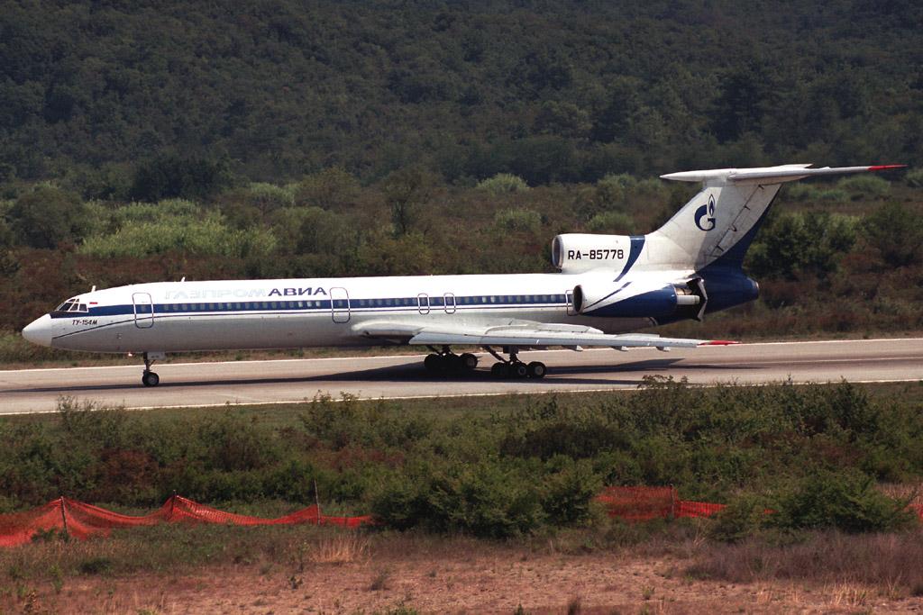 Самолет ту 154м кликни по фотографии
